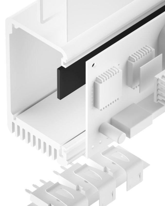 TEL-YSS-SI Silikon Gap Filler hoch thermisch leitfähig
