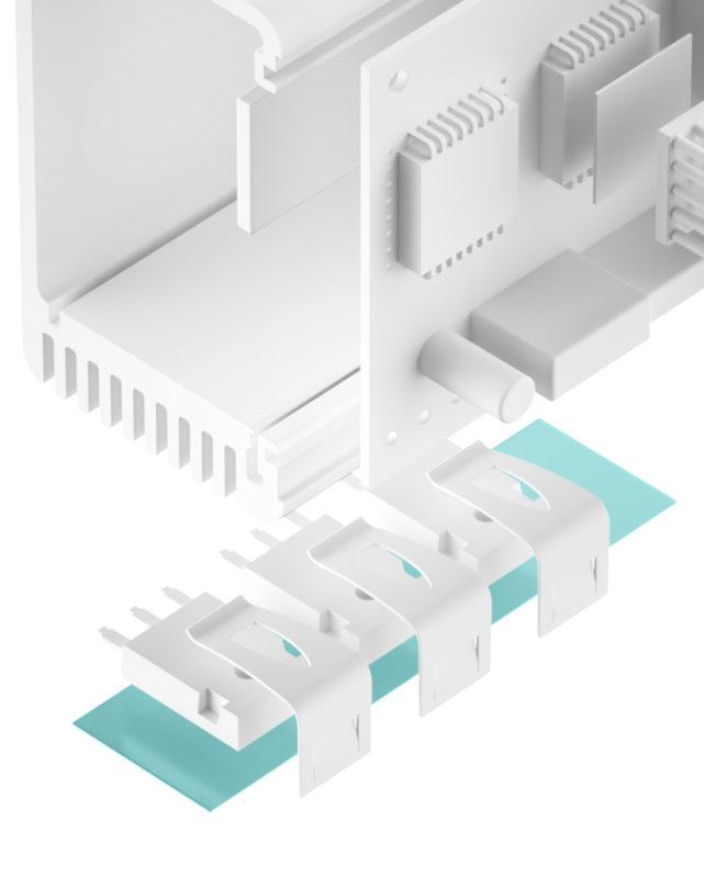 TFO-X-SI Silikonfolie glasfaserverstärkt