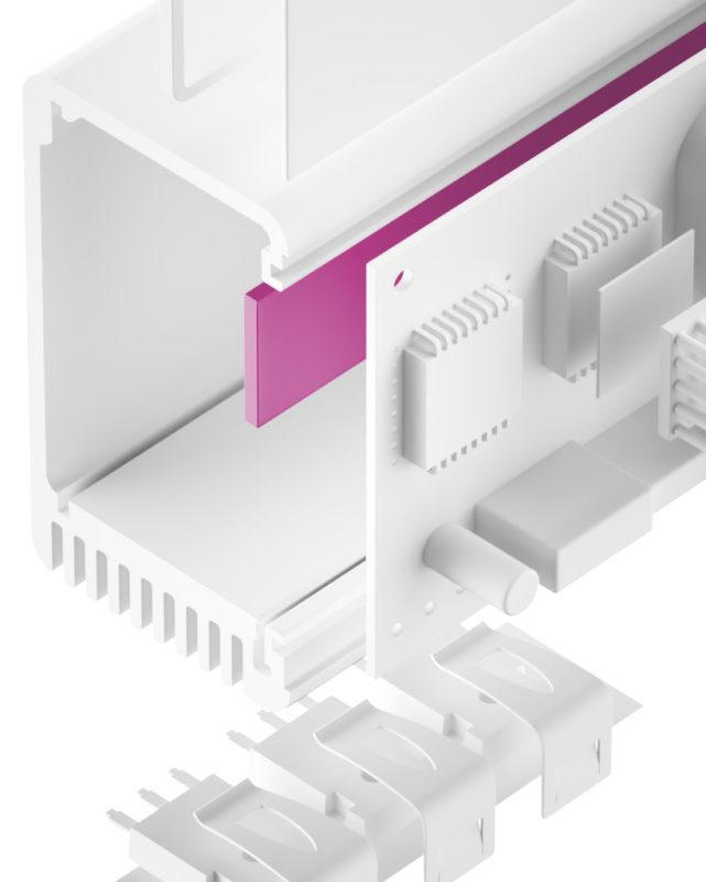 TGF-BXS-SI Silikon Gap Filler sehr weich