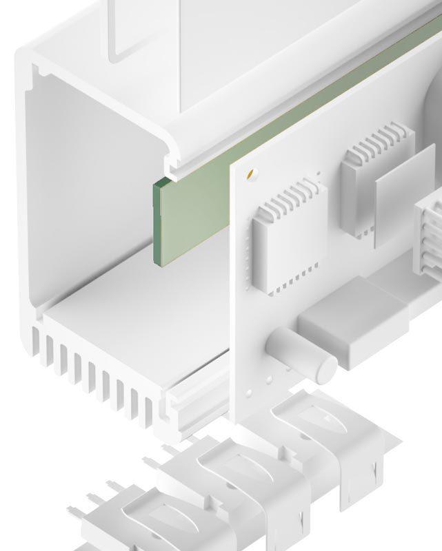 TGF-IXS-NS Silikonfreier Gap Filler sehr weich