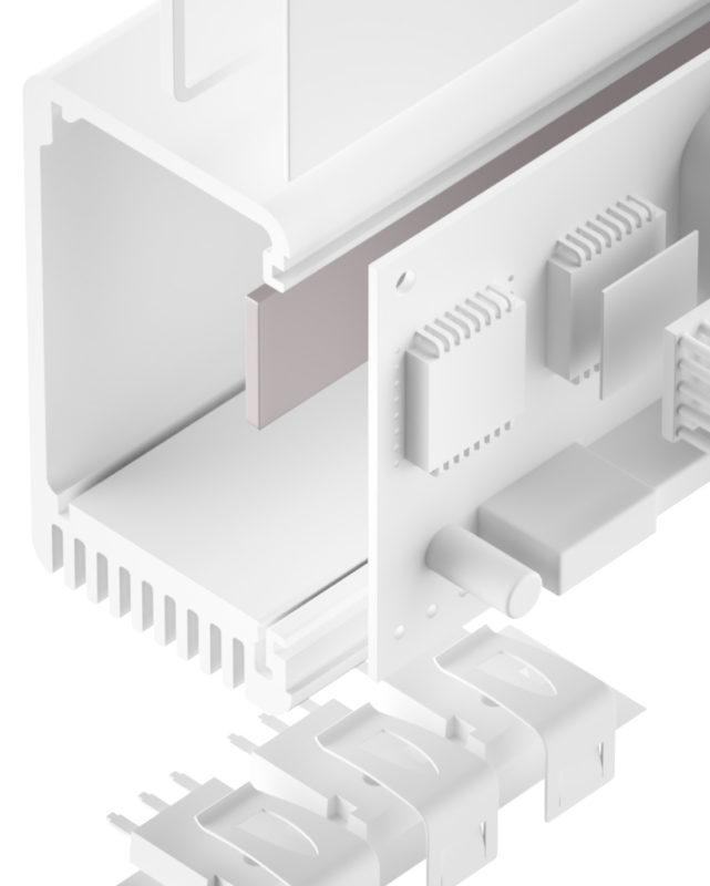 TGF-JUS-SI Silikon Gap Filler sehr weich
