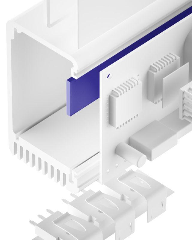 TGF-JXS-SI Silikon Gap Filler sehr weich