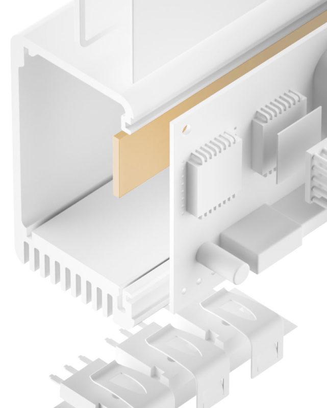 TGF-LSS-SI Silikon Gap Filler sehr weich