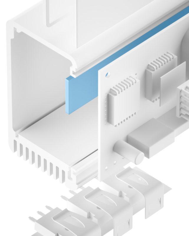 TGF-M-SI Silikon Gap Filler weich