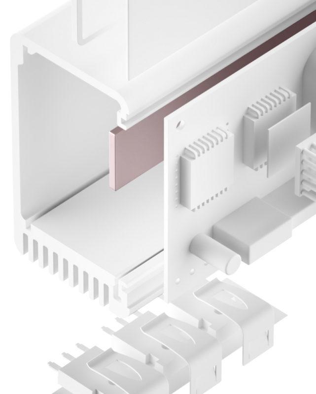 TGF-TSS-SI Silikon Gap Filler sehr weich
