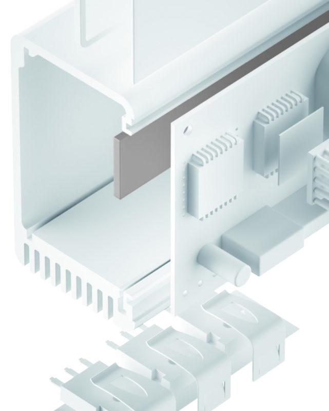 TGF-U-SI Silikon Gap Filler weich