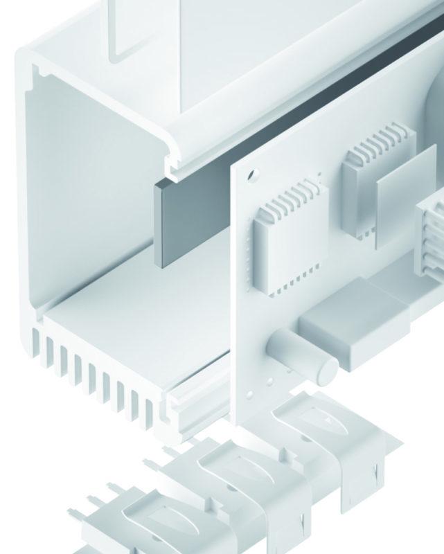 TGF-W-SI Silikon Gap Filler weich elastisch