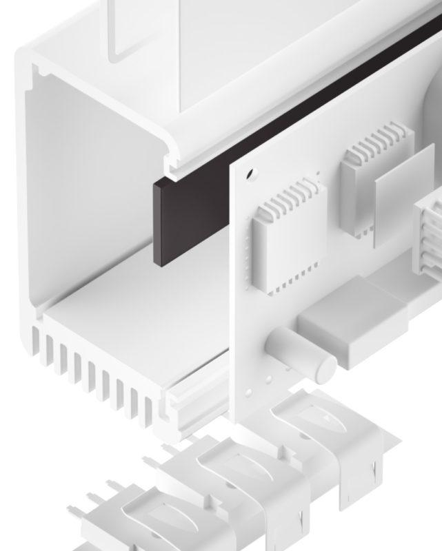 TGF-Z-NS Silikonfreier Gap-Filler ausscheidungsfrei