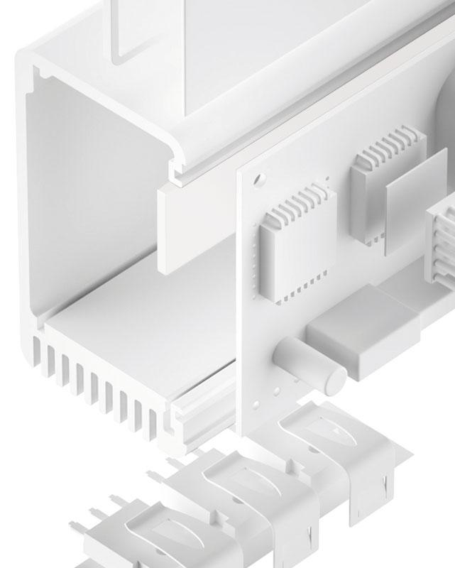 TGF-ZP-NS Silikonfreier Gap Filler elasto-plastisch