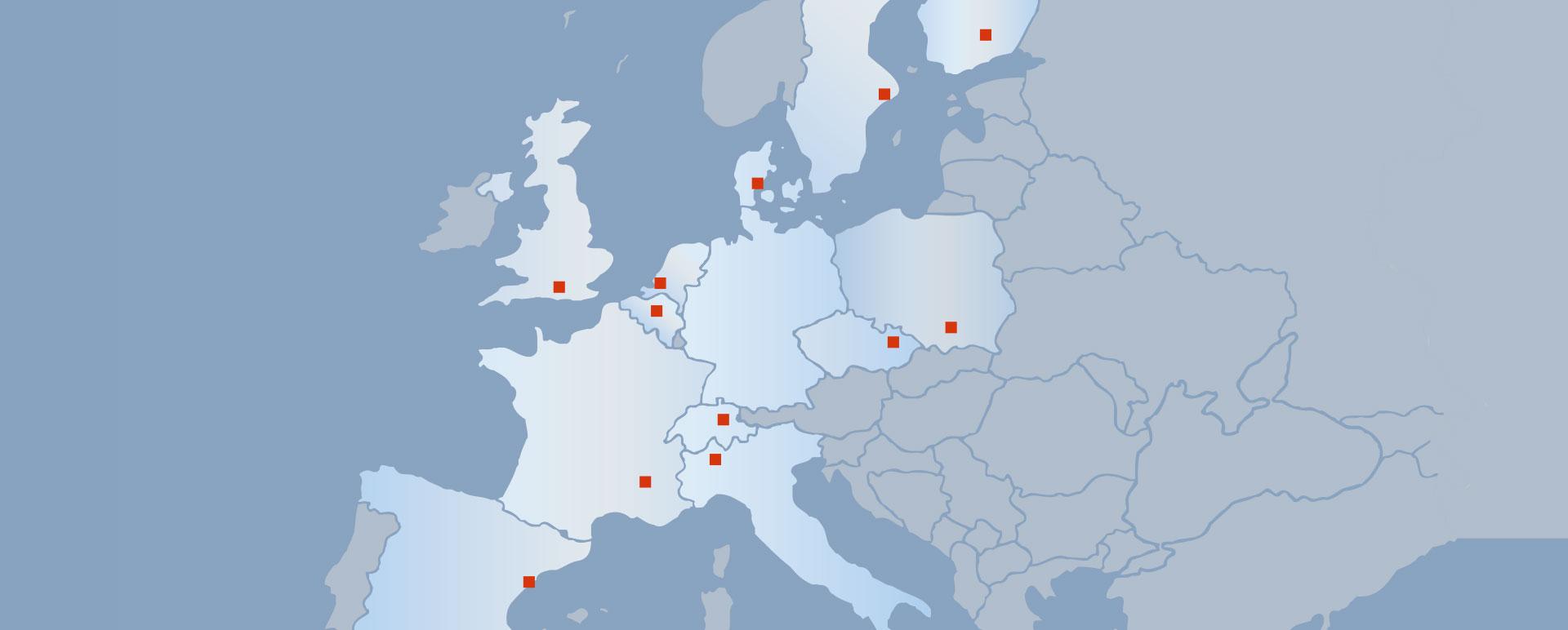 Vertriebspartner Europa