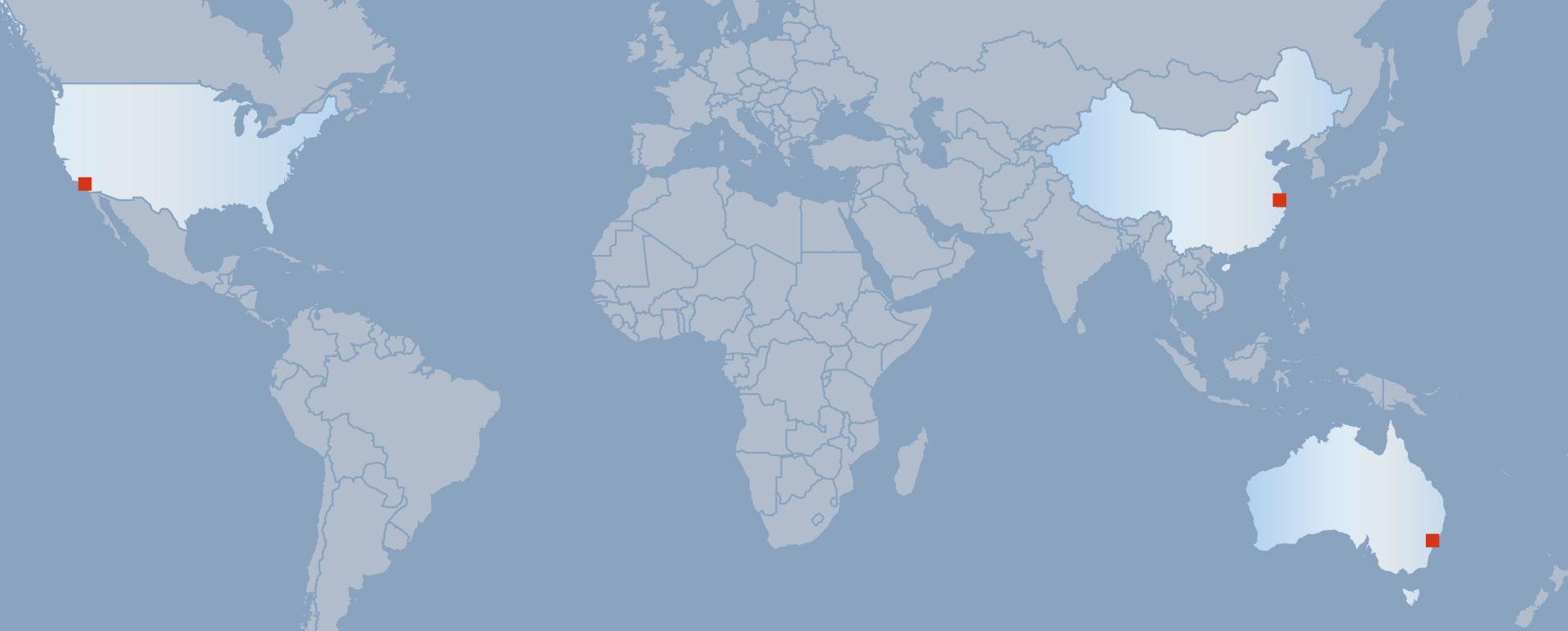 HALA Vertriebspartner weltweit